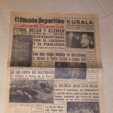 Coleccionismo deportivo: EL MUNDO DEPORTIVO Nº 11.899 AÑO 1961. Lote 24218237