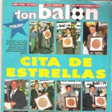 Coleccionismo deportivo: DON BALON Nº 946. DICIEMBRE 1993. CITA DE ESTRELLAS. GRAN GALA DON BALON. ENTREVISTA A SUKER... Lote 11577176