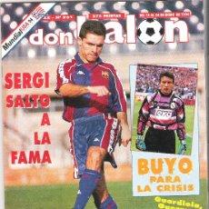 Coleccionismo deportivo: DON BALON Nº 951. ENERO 1994. MUNDIAL USA 94. VALENCIA EN POSTER. ENTREVISTAS A SERGI, BUYO, NILSON.. Lote 12493091