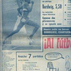 Coleccionismo deportivo: DIARIO DEPORTIVO: MARCA, 1972. Lote 24676508