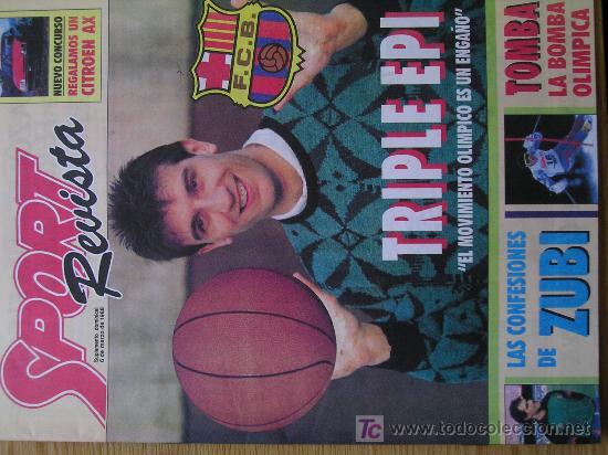 REVISTA SPORT SUPLEMENTO DEPORTIVO SEMANAL NUMERO 4 POSTER DE ALBERTO TOMBA (Coleccionismo Deportivo - Revistas y Periódicos - Sport)