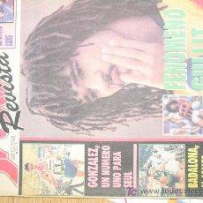Coleccionismo deportivo: REVISTA SPORT SUPLEMENTO DEPORTIVO SEMANAL NUMERO 6 POSTER DE JOSE LUIS GONZALEZ. Lote 26323071