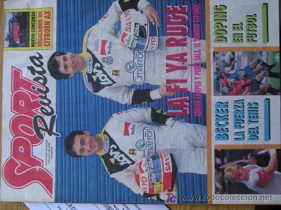 REVISTA SPORT SUPLEMENTO DEPORTIVO NUMERO 9 POSTER BECKER (Coleccionismo Deportivo - Revistas y Periódicos - Sport)