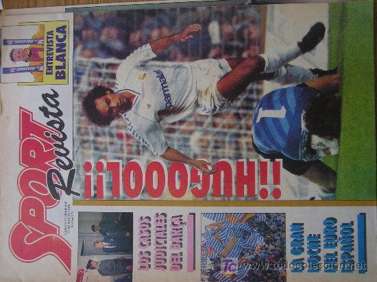 REVISTA SPORT SUPLEMENTO DEPORTIVO NUMERO 11 (Coleccionismo Deportivo - Revistas y Periódicos - Sport)