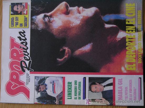 REVISTA SPORT SUPLEMENTO DEPORTIVO NUMERO 19 POSTER LINEKER (Coleccionismo Deportivo - Revistas y Periódicos - Sport)