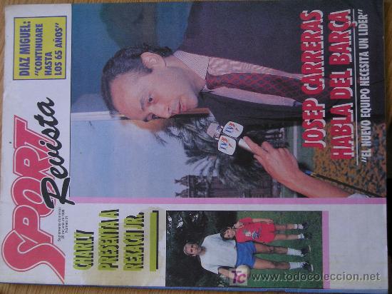 REVISTA SPORT SUPLEMENTO DEPORTIVO NUMERO 21 POSTER SERGEI BUBKA (Coleccionismo Deportivo - Revistas y Periódicos - Sport)