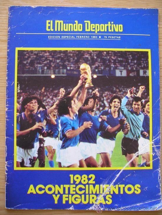 REVISTA MUNDO DEPORTIVO ESPECIAL 1982 PORTADA MUNDIAL 82 RECOPA DEL BARCELONA Y MAS (Coleccionismo Deportivo - Revistas y Periódicos - Mundo Deportivo)