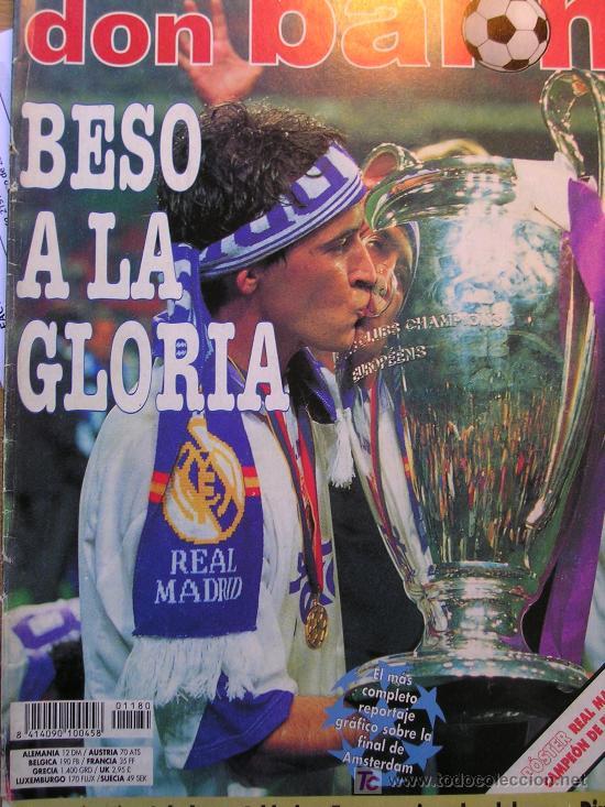REVISTA DON BALON REAL MADRID CAMPEON DE EUROPA LA SEPTIMA (Coleccionismo Deportivo - Revistas y Periódicos - Don Balón)