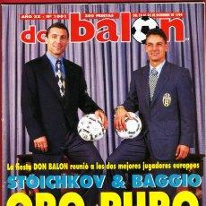 Coleccionismo deportivo: REVISTA DON BALON, Nº 1001 DICIEMBRE 1994. Lote 18795852
