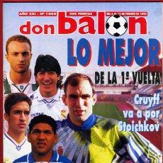 Coleccionismo deportivo: REVISTA DON BALON, Nº 1008 , FEBRERO 1995. Lote 18795855