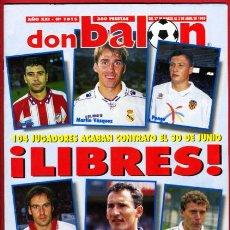 Coleccionismo deportivo: REVISTA DON BALON, Nº 1015 , ABRIL 1995. Lote 18795857