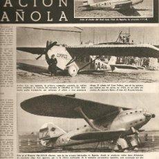 Coleccionismo deportivo: MUNDO HISPANICO.AÑO 1955.ANIS DEL MONO.ESTRELLAS EN MADRID.AVIACION BODAS DE ORO.. Lote 13195335