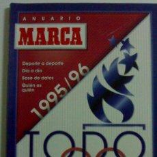 Coleccionismo deportivo: MARCA TODO DEPORTE 95-96 ANUARIO DEL DEPORTE CASI NUEVO. Lote 26327546