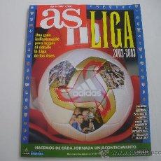 Coleccionismo deportivo: FUTBOL - GUIA AS DE LA LIGA 2002-2003. Lote 24360182