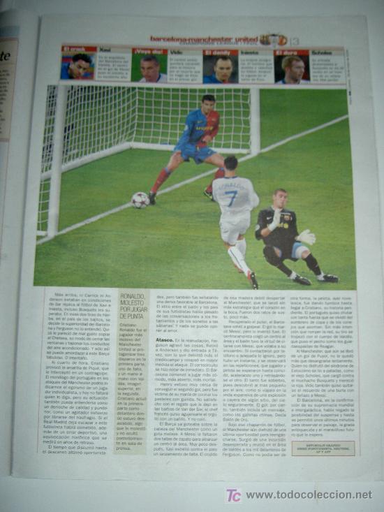 Coleccionismo deportivo: DIARIO AS FUTBOL CLUB BARCELONA CAMPEON EUROPA CHAMPIONS LEAGUE 2009 , - Foto 2 - 27104996