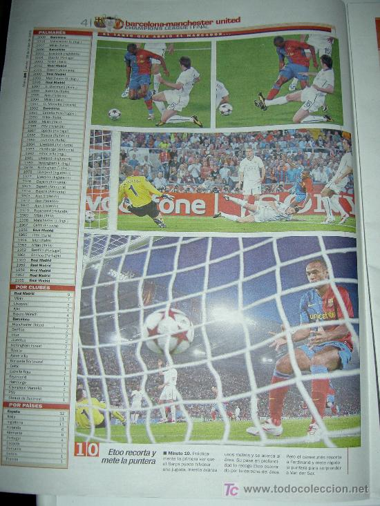 Coleccionismo deportivo: DIARIO AS FUTBOL CLUB BARCELONA CAMPEON EUROPA CHAMPIONS LEAGUE 2009 , - Foto 3 - 27104996