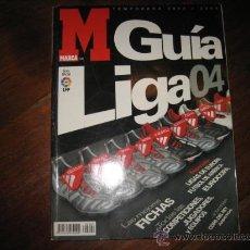 Coleccionismo deportivo: GUIA MARCA LIGA 04. Lote 15191992