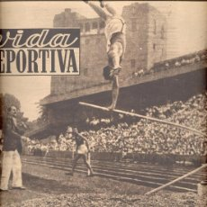 Coleccionismo deportivo: VIDA DEPORTIVA Nº 203 1949 COMPETICIONES AUTOMOBILISTAS EN ROMA GRAN PREMIO PIETRO TARRUFFI. Lote 14120042