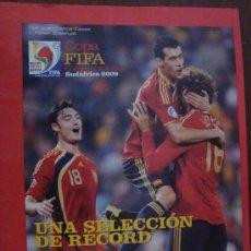 Coleccionismo deportivo: REVISTA DON BALON EXTRA COPA CONFEDERACIONES 2009 ESPAÑA. Lote 24076739