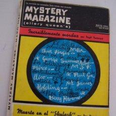 Coleccionismo deportivo: MYSTERY MAGAZINE- ELLERY QUEEN´S-LA REVISTA DE MISTERIO MAÁS LEIDA DEL MUNDO-MAYO 1964. Lote 27274437
