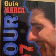 Coleccionismo deportivo: CICLISMO GUIA MARCA TOUR 97. Lote 27145116