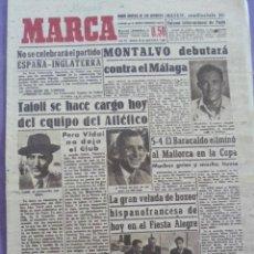 Coleccionismo deportivo: MARCA DIARIO-AÑO VII.1948 1684-ZARAGOZA CONTARA EN MAYO CON UNA CIUDAD DEPORTIVA-ESTADIO CASABLANCA. Lote 21073705