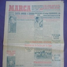 Coleccionismo deportivo: MARCA DIARIO-AÑO VIII 1949-1948-EL BARCELONA-ATLETICO DECISIVO EN LA LUCHA POR LA LIGA. Lote 14892386