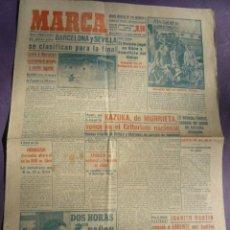 Coleccionismo deportivo: MARCA DIARIO-AÑO VIII 1949-2099-WATER POLO-BARCELONA Y SEVILLA FINALISTAS.. Lote 20835824