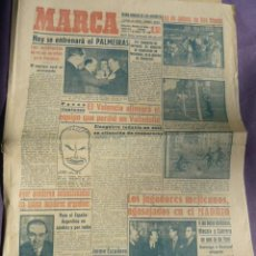 Coleccionismo deportivo: MARCA DIARIO-AÑO VIII 1949-2189 - EN MESTALLA SE HAN AGOTADO LAS ENTRADAS.VALENCIA -ATLETICO. Lote 14900742