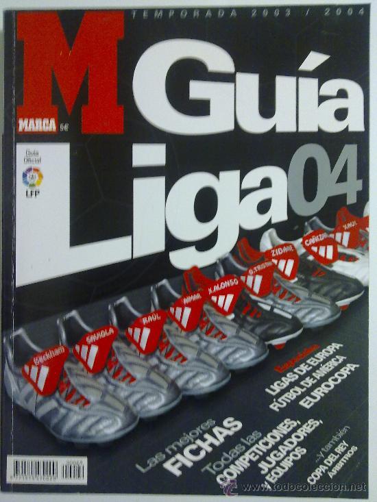 GUIA MARCA GUIA LIGA 04 CASI NUEVA (Coleccionismo Deportivo - Revistas y Periódicos - Marca)