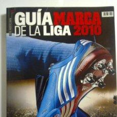 Coleccionismo deportivo: GUIA MARCA GUIA DE LA LIGA 2010 CASI NUEVA. Lote 26523588