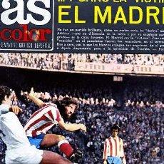 Coleccionismo deportivo: REVISTA DEPORTIVA AS COLOR Nº 148 CONTIENE POSTER SELECION NACIONAL DE SUECIA. Lote 15061179