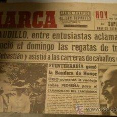 Coleccionismo deportivo: DIARIO MARCA, 14-9-1943. Lote 15129264