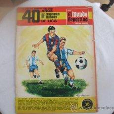 Coleccionismo deportivo: 40 AÑOS DE CAMPEONATOS NACIONALES DE LIGA. Lote 26454237