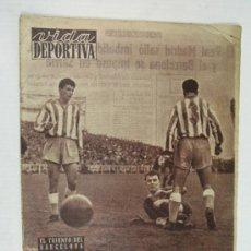 Coleccionismo deportivo: VIDA DEPORTIVA. TRIUNFO DEL BARCELONA ¿ CUAL ES EL MEJOR DEPORTISTA DE 1953 ? KUBALA. Lote 26634502