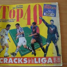 Coleccionismo deportivo: REVISTA DON BALON TOP 40 CRACKS LIGA 1998/99. Lote 26827912