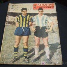 Coleccionismo deportivo: REVISTA DEPORTIVA ARGENTINA - MUNDO DEPORTIVO - 22 DICIEMBRE 1955. Lote 26454220