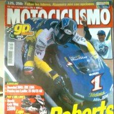 Coleccionismo deportivo: REVISTA MOTOCICLISMO Nº 1703-AÑO 2000-ROBERTS REY DE 500-PRUEBA CON LAVILLA ZX-9R/ZX-6R. Lote 25324556