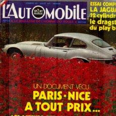 Coleccionismo deportivo: L'AUTOMOBILE SPORT MECANIQUE Nº 302 07.1971 - EN FRANCES. Lote 19767951