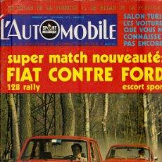Coleccionismo deportivo: L'AUTOMOBILE SPORT MECANIQUE Nº 307 12.1971 - EN FRANCES. Lote 19767955