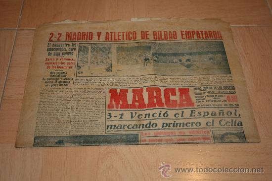 PERIODICO MARCA Nº 1995 1949 (Coleccionismo Deportivo - Revistas y Periódicos - Marca)