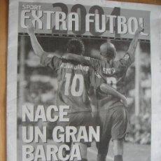 Coleccionismo deportivo: PERIODICO SPORT EXTRA FUTBOL 2004. Lote 25050399