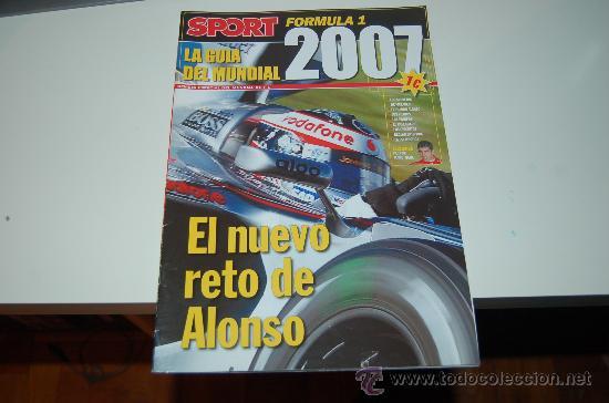 FÓRMULA 1: LA GUÍA DEL MUNDIAL 2007 (Coleccionismo Deportivo - Revistas y Periódicos - Sport)