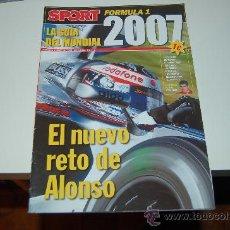 Coleccionismo deportivo: FÓRMULA 1: LA GUÍA DEL MUNDIAL 2007. Lote 26715240