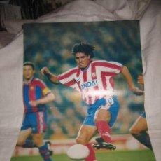 Coleccionismo deportivo: DON BALON RANKING POSTER DE TOURE YAYA FC BARCELONA 2007-2008. Lote 17664320