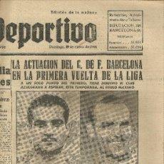 Coleccionismo deportivo: EL MUNDO DEPORTIVO Nº 6312 1944 ELIAS ROSALEN . Lote 17859788