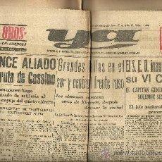 Coleccionismo deportivo: YA 11 ENERO 1944 Nº 1489 NUEVO EDIFICIO DE LA ESCUELA OFICIAL DE PERIODISMO . Lote 17859869