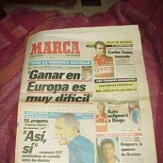 Coleccionismo deportivo: MARCA. SEPTIEMBRE 1990. BUTRAGUEÑO, CARLOS SAINZ, COPAS DAVIS: URSS - ESPAÑA ....*. Lote 18010842