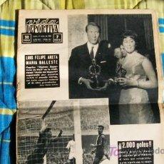 Coleccionismo deportivo: VIDA DEPORTIVA-Nº 957-AÑO 1964-GOL 2000 DEL BARCELONA. Lote 18639398