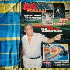 Coleccionismo deportivo: AS SEMANAL-CALDERON-Nº28-1986-40 PAG. Lote 18766206